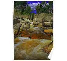 Woolshed Falls. Poster