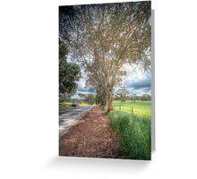 Gum Tree Dreaming - Blakiston Road, Blakiston, Adelaide Hills Greeting Card
