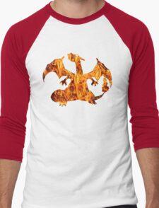Pokemon: Textured - Charizard T-Shirt