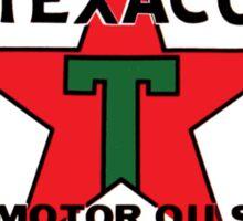 TEXACO VINTAGE OLD GASOLINE MOTOR Sticker
