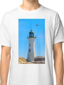 Old Scituate Light - Scituate, MA Classic T-Shirt