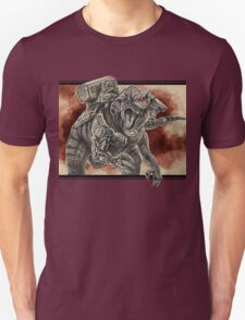 Cybernetic Hybrid Dinosaur T-Shirt
