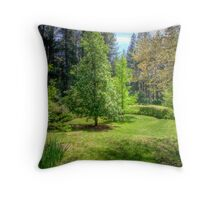 """Wairoa"" - Private Gardens, Stirling, Adelaide Hills Throw Pillow"