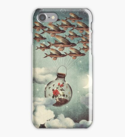The Rose That Wanted to See the World iPhone Case/Skin