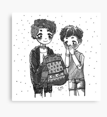 Toffee's Gift Canvas Print