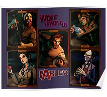 The Wolf Among Us - Portrait Collage Poster