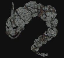 Pokemon: Textured - Onix  by CharlesLaurita
