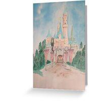 Mom's Favorite Disney Castle Greeting Card