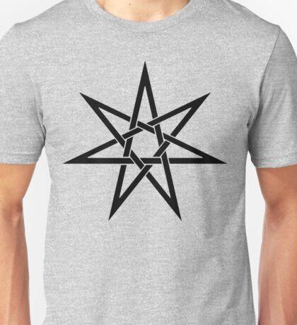 Knot-Style Septagram Unisex T-Shirt