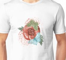 Poppies and Butterflies Unisex T-Shirt