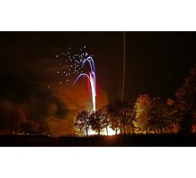 Remembering Guy Fawkes. Photographic Print