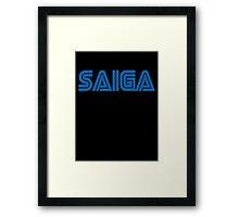 Saiga  Framed Print