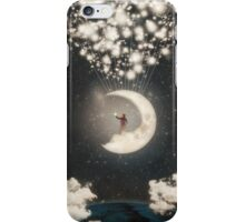 The Big Journey of the Man on the Moon iPhone Case/Skin