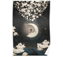The Big Journey of the Man on the Moon Poster