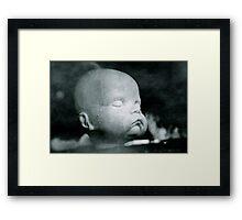 Sulk Framed Print