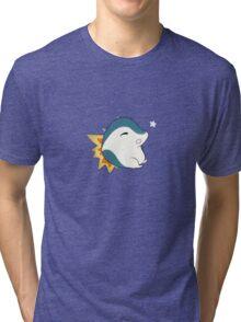 Chubby Cyndaquil  Tri-blend T-Shirt