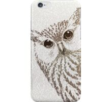 The Intellectual Owl iPhone Case/Skin