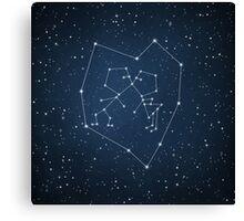 Love Constellation Canvas Print