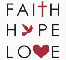 Fait, Hope & Love One Piece - Short Sleeve