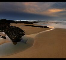 Sundown on Sawtell by Robert Mullner