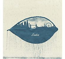 Rainy Day in London Photographic Print