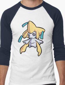 Jirachi Men's Baseball ¾ T-Shirt
