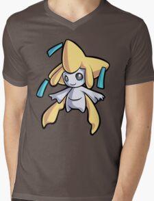 Jirachi Mens V-Neck T-Shirt