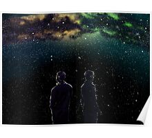 John and Rodney - A Galaxy Away Poster
