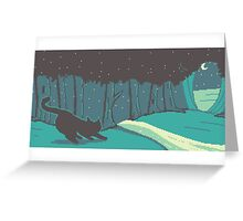 Firefly Forest Greeting Card