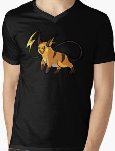 Raichu Mens V-Neck T-Shirt