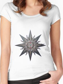Gothic Sign Women's Fitted Scoop T-Shirt