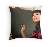 Ramona DeVille Throw Pillow