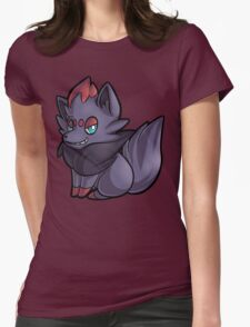 Zorua Womens Fitted T-Shirt