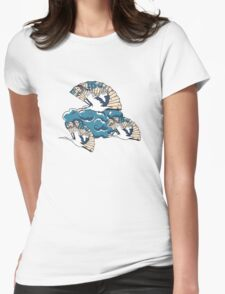 Oriental FanTasy Womens Fitted T-Shirt