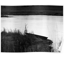 Abandoned Canoe Poster