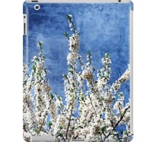 Cherry Blossoms on Blue iPad Case/Skin