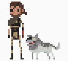 Pixel Big boss & Diamond dog by Tropelio