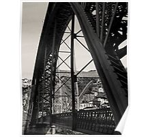 Eiffel bridge Poster