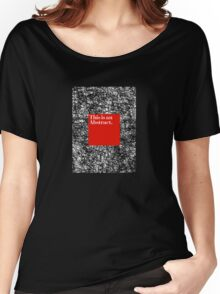 ABSTRACT CERTIFIED Women's Relaxed Fit T-Shirt