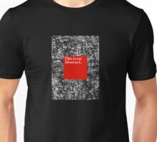 ABSTRACT CERTIFIED Unisex T-Shirt
