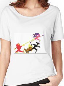 speedrunners pixel art Women's Relaxed Fit T-Shirt