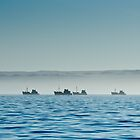 Diamond searching ships - Lüderitz Namibia by Andy-Kim Möller