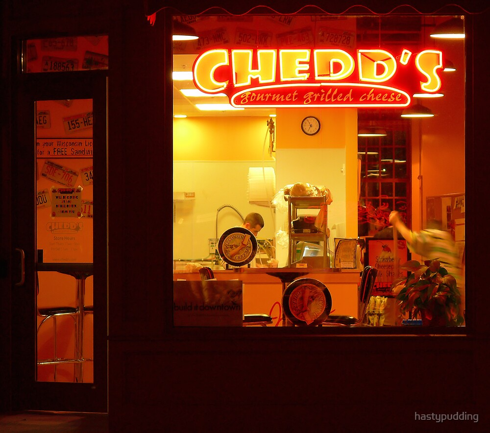 Closing Time at Chedds-Sioux Falls, SD by hastypudding