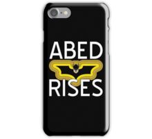 Abed Rises iPhone Case/Skin