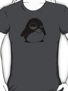 TUX Penguin in a bad mood, LINUX T-Shirt