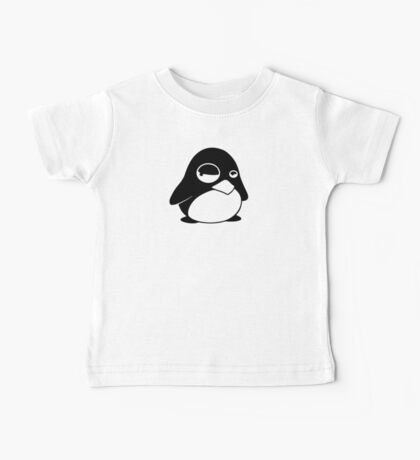 TUX Penguin in a bad mood, LINUX Baby Tee