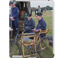 Commemoration of The Hardest Day took place at Biggin Hill Airport iPad Case/Skin