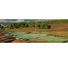 16th Hole at Tenuta di Bagnaia-Siena, Italy Photographic Print