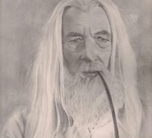Gandalf LOTR by Raynepau