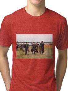 Commemoration of The Hardest Day took place at Biggin Hill Airport Tri-blend T-Shirt